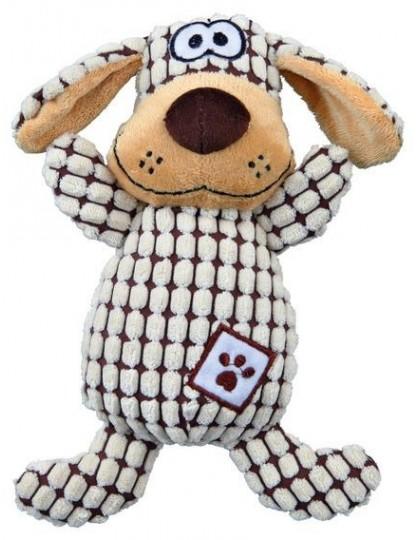 Собака игрушка для собак с пищалкой