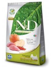 Natural & Delicious Grain Free Adult Mini  полнорационный беззерновой корм для взрослых собак мелких и карликовых пород кабан с яблоком