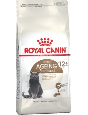 Ageing Sterilised 12+ полнорационный сухой корм подходит стареющим стерилизованным кошкам старше 12 лет