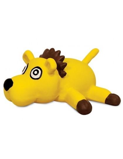 Желтая собака игрушка для собак