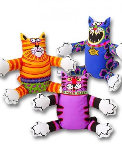 Terrible Nasty Scaries злобный кот, мягкая игрушка для собак