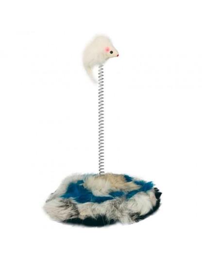 Мышь на подставке игрушка для кошек