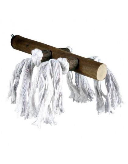 Жердочка деревянная, с веревкой