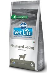 Vet Life Neutered >10kg полнорационное и сбалансированное питание для взрослых кастрированных или стерилизованных собак для контроля веса и профилактики развития мочекаменной болезни