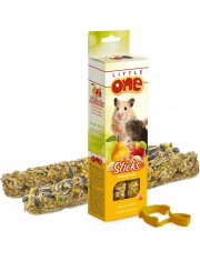 Палочки для хомяков, крыс, мышей и песчанок с фруктами и орехами
