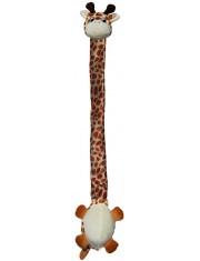 Danglers жираф с шуршащей шеей игрушка для собак