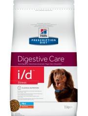 Hill's Prescription Diet i/d Stress Mini Digestive Care сухой диетический корм для собак мелких пород для поддержания здоровья ЖКТ и при стрессе одновременно с курицей