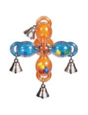 Мельница с колокольчиками игрушка для птиц