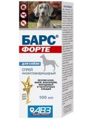 Спрей Барс форте инсектоакарицидный для собак