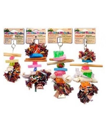 Подвеска комбинированная игрушка для птиц