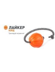 Мяч на шнуре лайкер корд, игрушка для собак