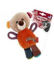 Мишка с пищалкой  игрушка для собак