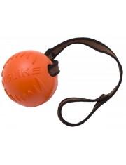 Мяч из вспененной резины с лентой для собак