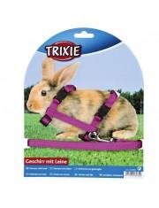 Шлейка с поводком для кроликов