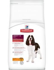 Hill's Science Plan Advanced Fitness сухой корм для собак мелких и средних пород от 1 до 7 лет для повседневного питания курица