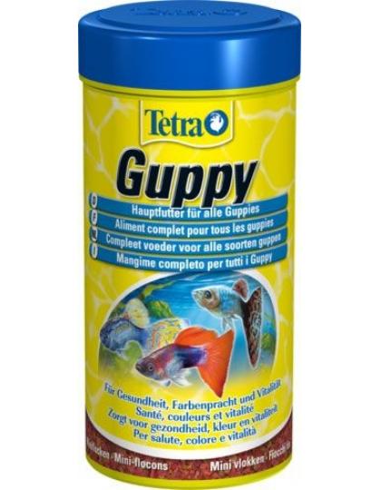 Корм для гуппи Tetra Guppy хлопья