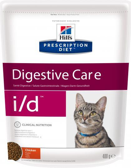 Prescription Diet i/d Feline высоко усваиваемый рацион, созданный специально для поддержания здоровья кошек с расстройствами пищеварения