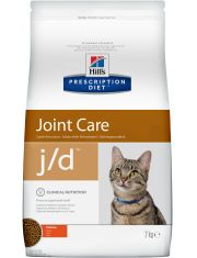 Hill's Prescription Diet j/d Joint Care сухой диетический корм для кошек для поддержания здоровья суставов курица