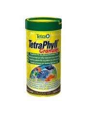 Корм для всех травоядных рыб TetraPhyll в гранулах 250 мл
