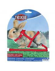Шлейка с поводком для кроликов и морских свинок