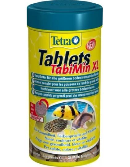 Корм Tetra Tablets TabiMin XL для крупных травоядных донных рыб, 133 таб