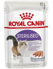 Sterilised для стерилизованных взрослых кошек (паштет)