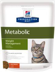 Hill's Prescription Diet Metabolic Weight Management сухой диетический корм для кошек для достижения и поддержания оптимального веса с курицей