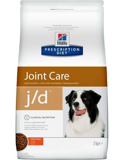 PRESCRIPTION DIET j/d для поддержания здоровья суставов с курицей