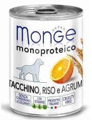 Monoproteico Fruits паштет из индейки с рисом и цитрусовыми