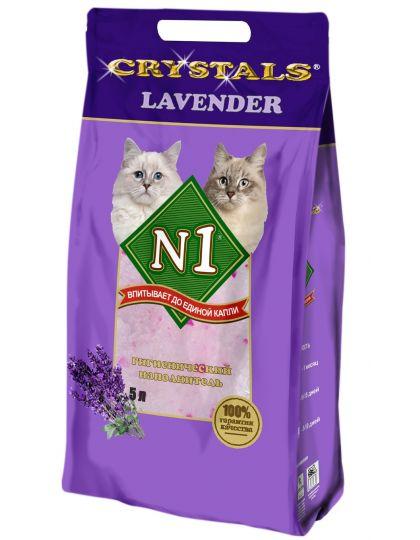 Наполнитель N1 Lavender силикагелевый