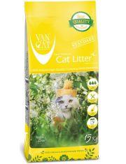 Наполнитель для кошачьих туалетов, комкующийся, без пыли, для крупных кошек