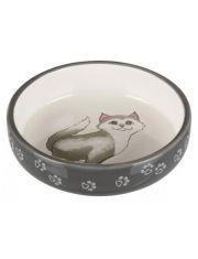 Миска для кошек, короткомордых пород
