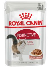 Instinctive кусочки в соусе для кошек старше 1 года