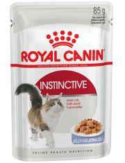 Instinctive желе полнорационный влажный корм для кошек старше 1 года