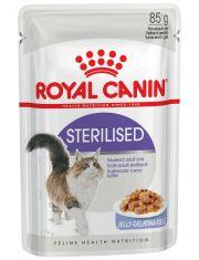 Sterilised влажный корм для стерилизованных кошек, желе