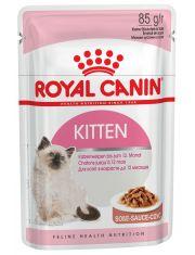 Kitten Instinctive в соусе влажный корм для котят от 4 до 12 месяцев