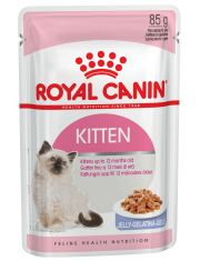 Kitten кусочки в желе для котят до 12 месяцев