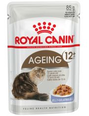 Ageing +12 в желе измельченные кусочки в желе для кошек старше 12 лет