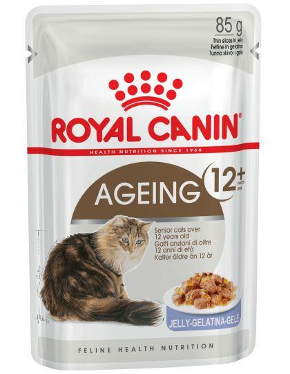 Ageing 12+ кусочки в желе для кошек старше 12 лет