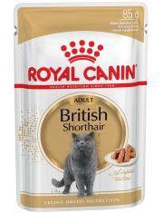 British Shorthair Adult влажный корм для британских короткошерстных кошек старше 12 месяцев
