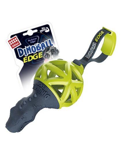 Диозавр с ручкой для перетягивания игрушка для собак