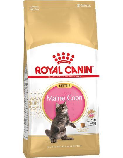 Maine Coon Kitten полнорационный корм для котят породы мейн-кун в возрасте от 3 до 15 месяцев
