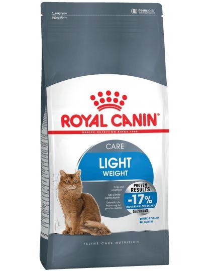 Light Weight Care для взрослых кошек в целях профилактики избыточного веса
