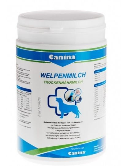 Welpenmilch (Вельпенмильх) заменяет материнское молоко щенкам с 1-го дня жизни