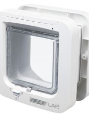 Дверца для кошки SureFlap, белая, сканирует идентификационный микрочип питомца