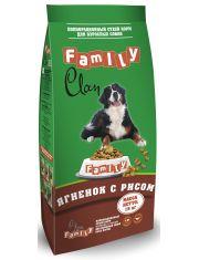 Сухой гипоаллергенный корм для взрослых собак ягненок с рисом