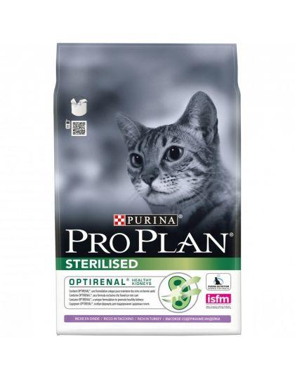 Sterilised сухой корм для стерилизованных кошек и кастрированных котов курица/индейка