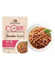 Tender Cuts пауч для кошек нежные кусочки лосося и тунца в пикантном соусе