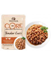 Tender Cuts  для кошек нежные кусочки курицы и индейки в пикантном соусе