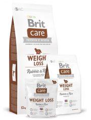 Care Weight Loss Rabbit & Rice гипоаллергенная формула с кроликом и рисом для собак с избыточным весом